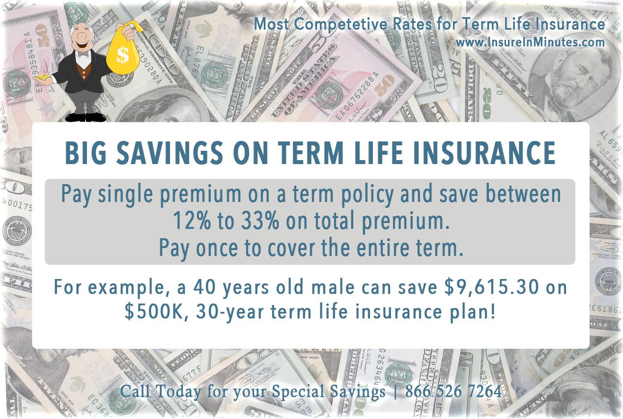 Single premium term life insurance