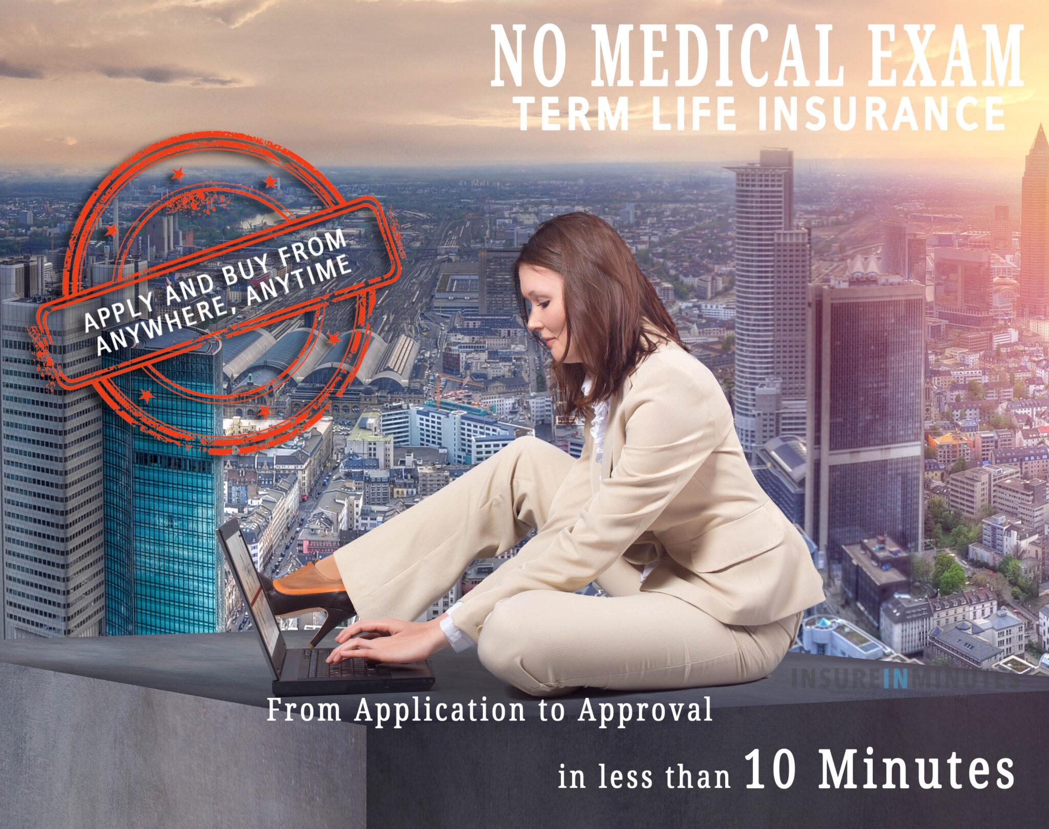 no medical exam term life